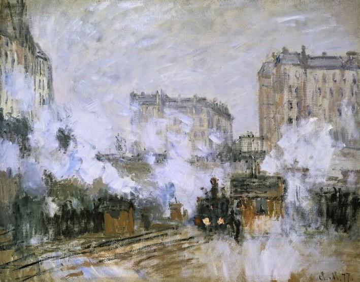 Exterieur-de-la-gare-Saint-Lazare-arrivee-dun-train-claude-monnet-paris-zigzag-e1511793181640